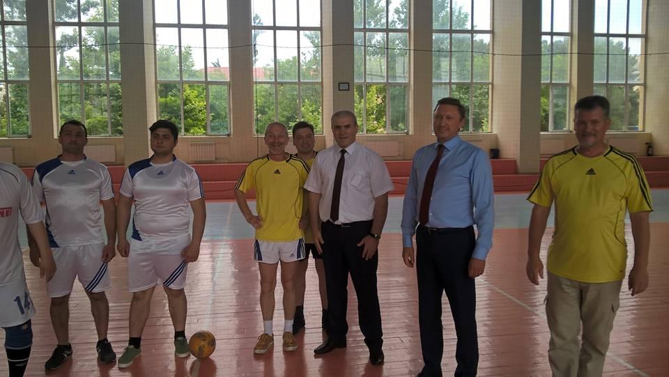 The first international football match between Ukrainian and Azerbaijani universities