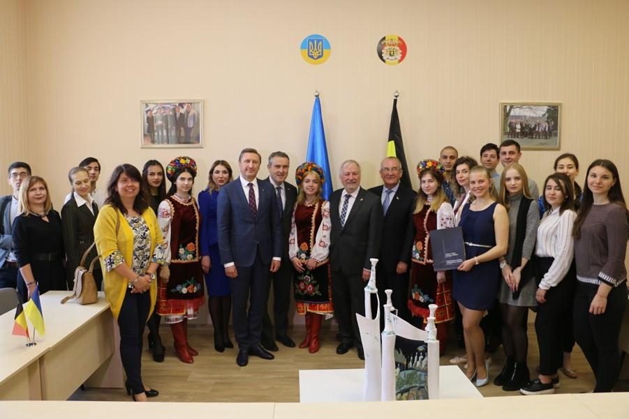 У ПолтНТУ відкрили українсько-бельгійський центр
