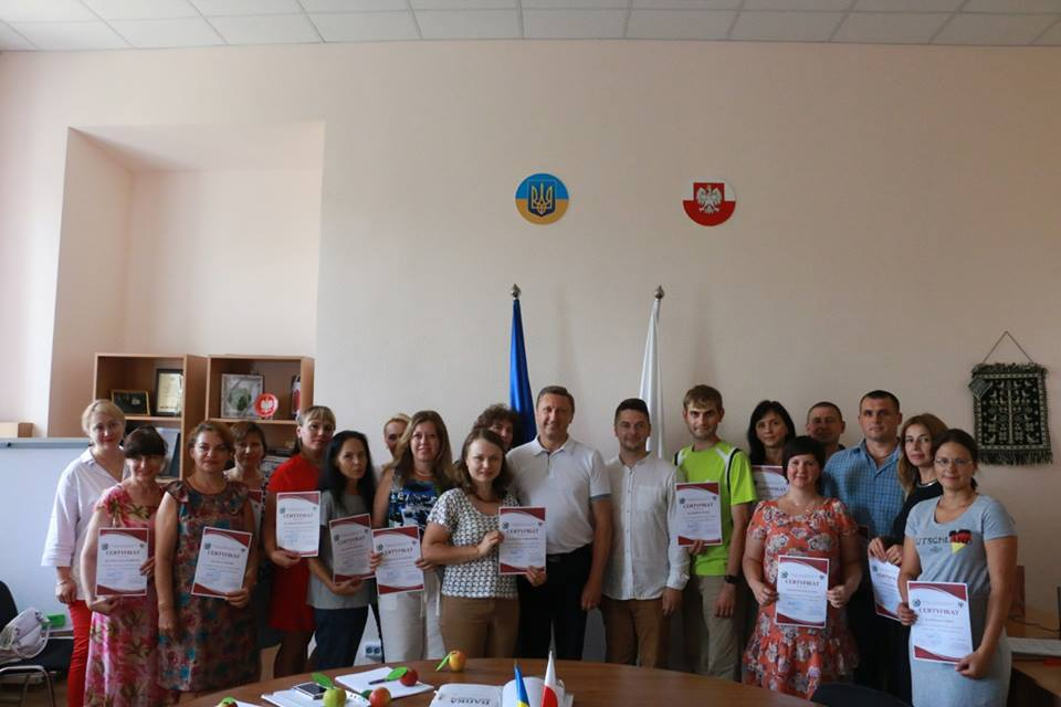 At PoltNTU handed certificates to graduates of an intensive Polish language course!