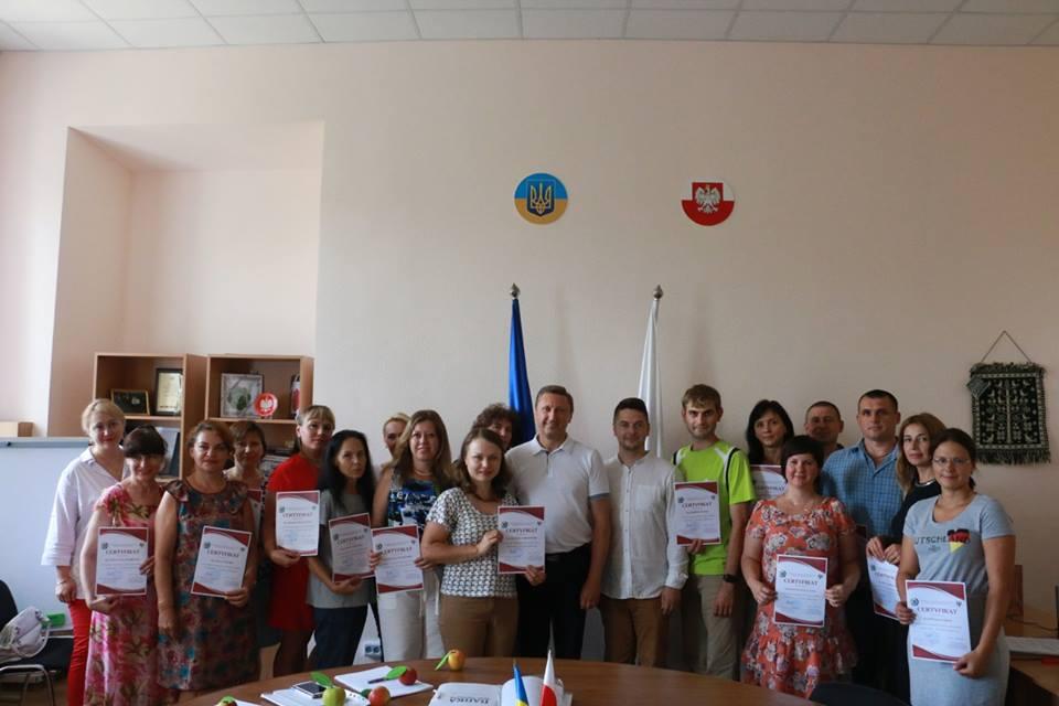 У ПолтНТУ вручили сертифікати випускникам інтенсивного курсу польської мови!
