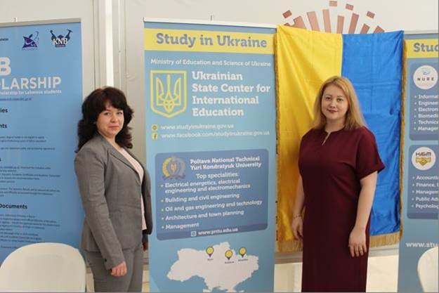 PoltNTU representatives had presented Ukrainian education in