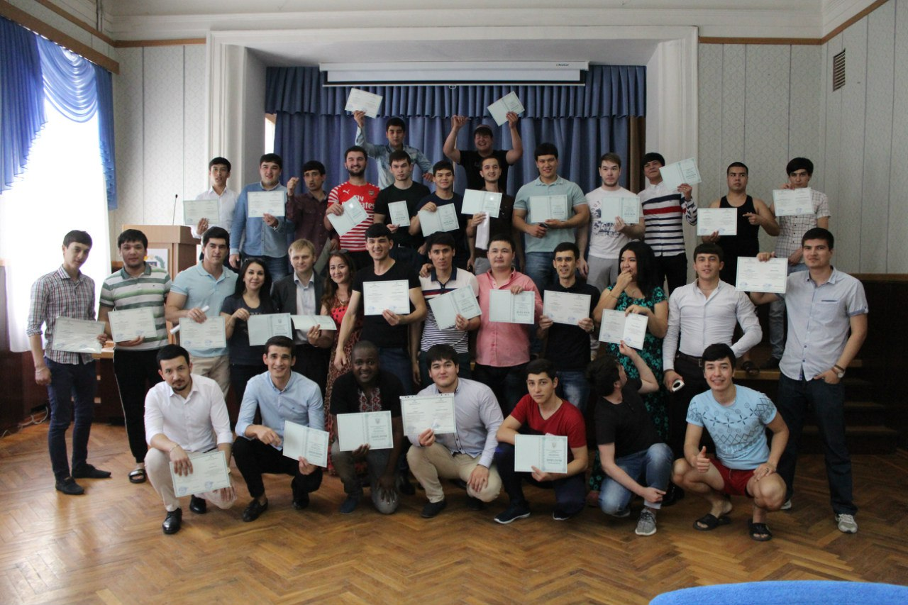 June 24, 2016 delivery of bachelor diplomas to foreign students