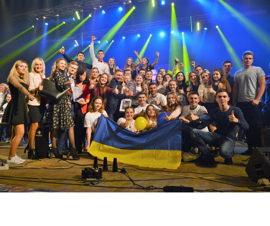 Студентське свято: отримали нагороди і влаштували шоу