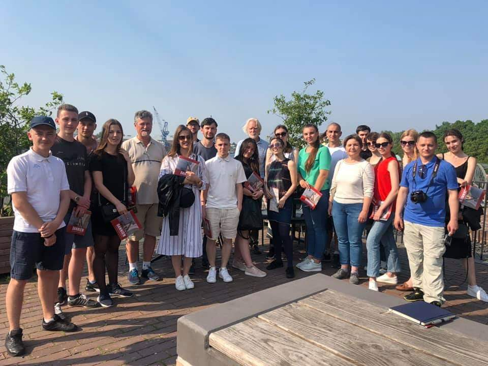 Море можливостей для студентів ПолтНТУ: молоді архітектори відвідали Німеччину у рамках освітньої архітектурно-містобудівної програми