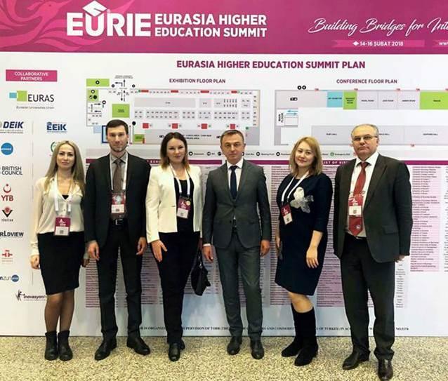 ПолтНТУ взяв участь у Третьому євразійському саміті вищої освіти