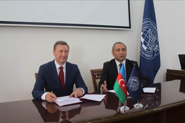 Новий стратегічний партнер ПолтНТУ – Азербайджанський державний економічний університет