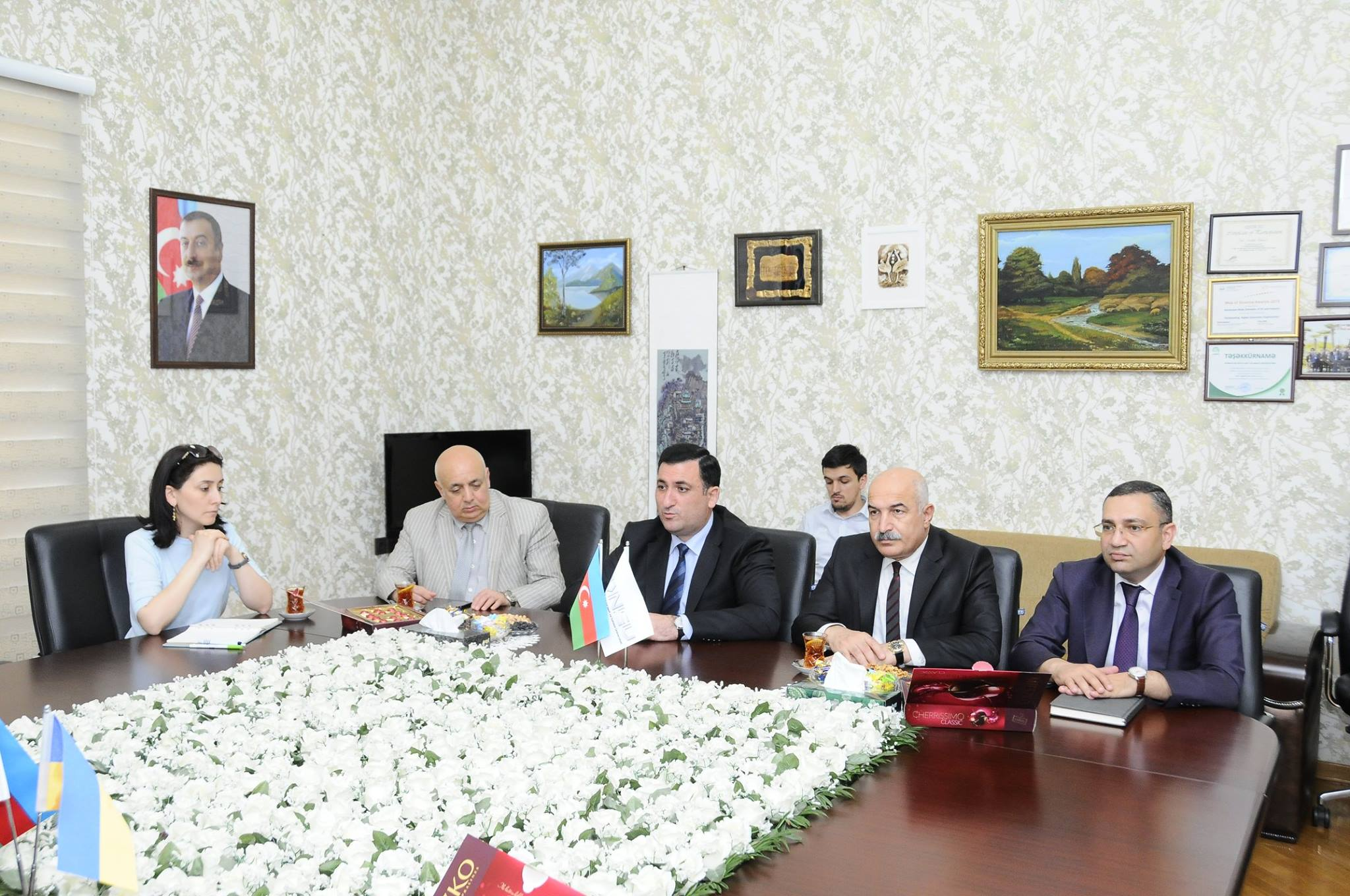 Співпраця з Азербайджанським державним університетом нафти і промисловості триває