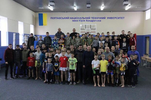 У ПолтНТУ відбувся відкритий Чемпіонат у Полтавській області з кікбоксингу і тайського боксу