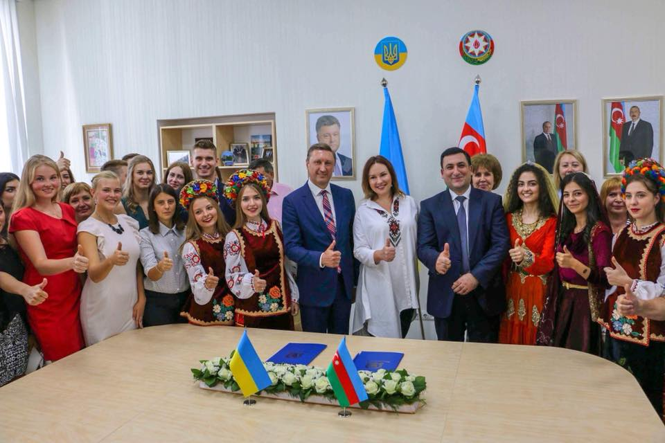 5 вересня 2018 року у #ПолтНТУ відкрили Українсько-Азербайджанський центр.