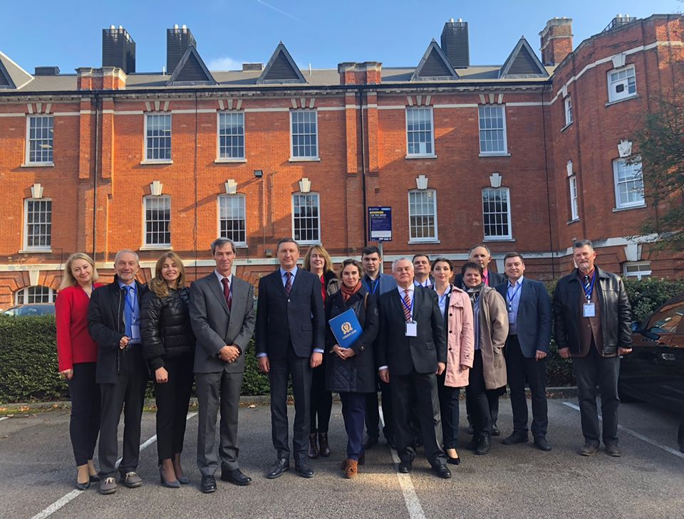 Робочий візит делегації науковців ПолтНТУ до Університету Грінвіч