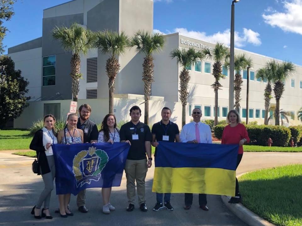 Делегація ПолтНТУ взяла участь у конференції студентського самоврядування штату Флорида, США «Florida College System Student Government Association Conference»