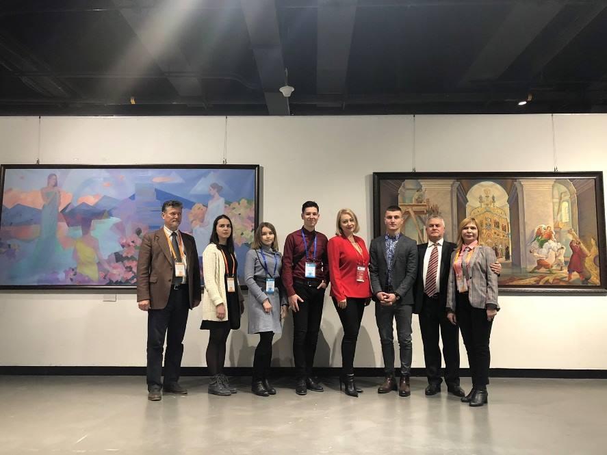 Делегація ПолтНТУ взяла участь у мистецькій виставці міжнародного фестивалю «Sino-Polish Art and Design Competition and Art Festival»