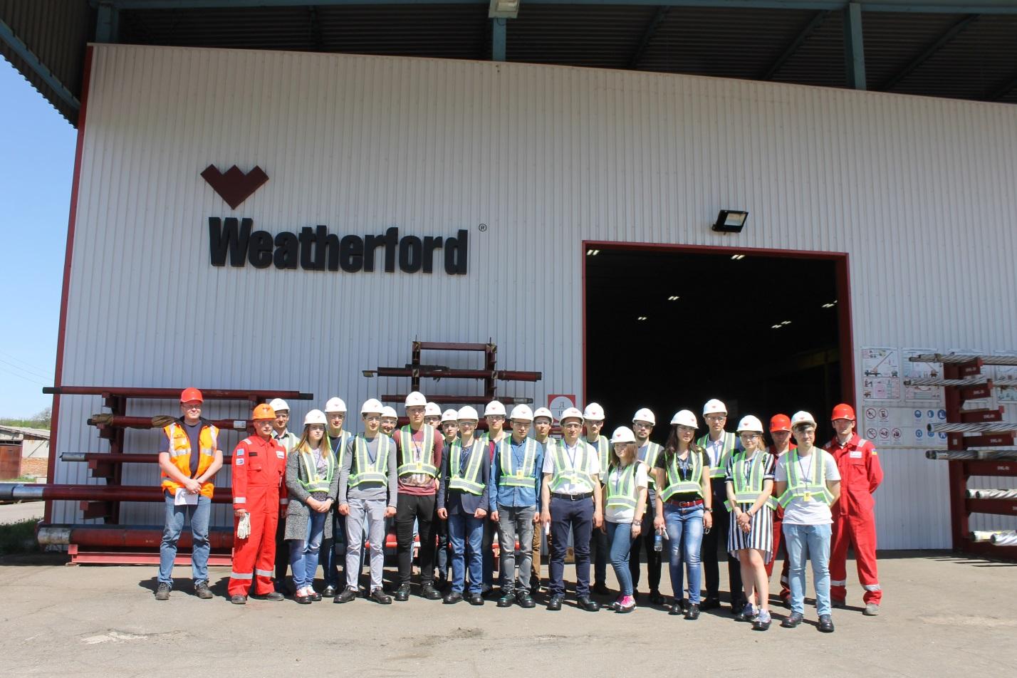 Студенти навчально-наукового інституту нафти і газу ПолтНТУ вивчають передові технології компанії «Weatherford»