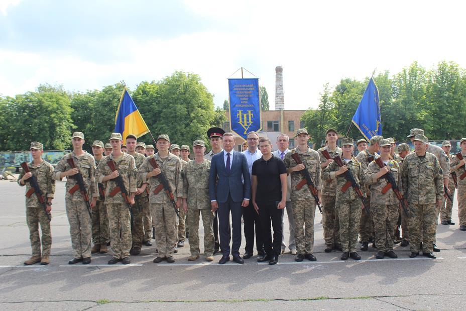 Курсанти ПолтНТУ прийняли присягу на вірність України!