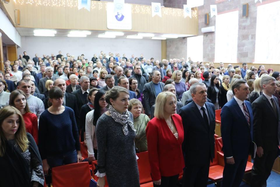У ПолтНТУ відбулося спільне засідання Конференції трудового колективу і Вченої ради університету