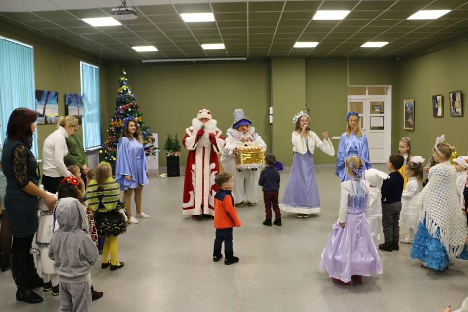 У ПолтНТУ привітали дітей викладачів, співробітників і студентів із наступаючими новорічними святами