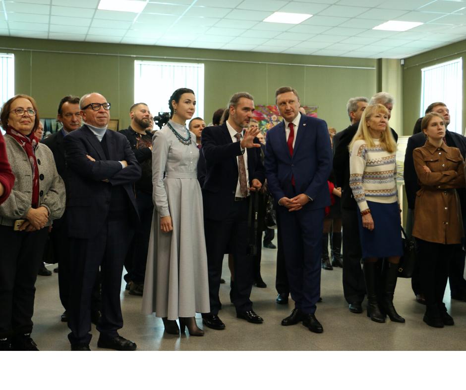 «Сад пісень»: відкрилась виставка художниці Ольги Пілюгіної