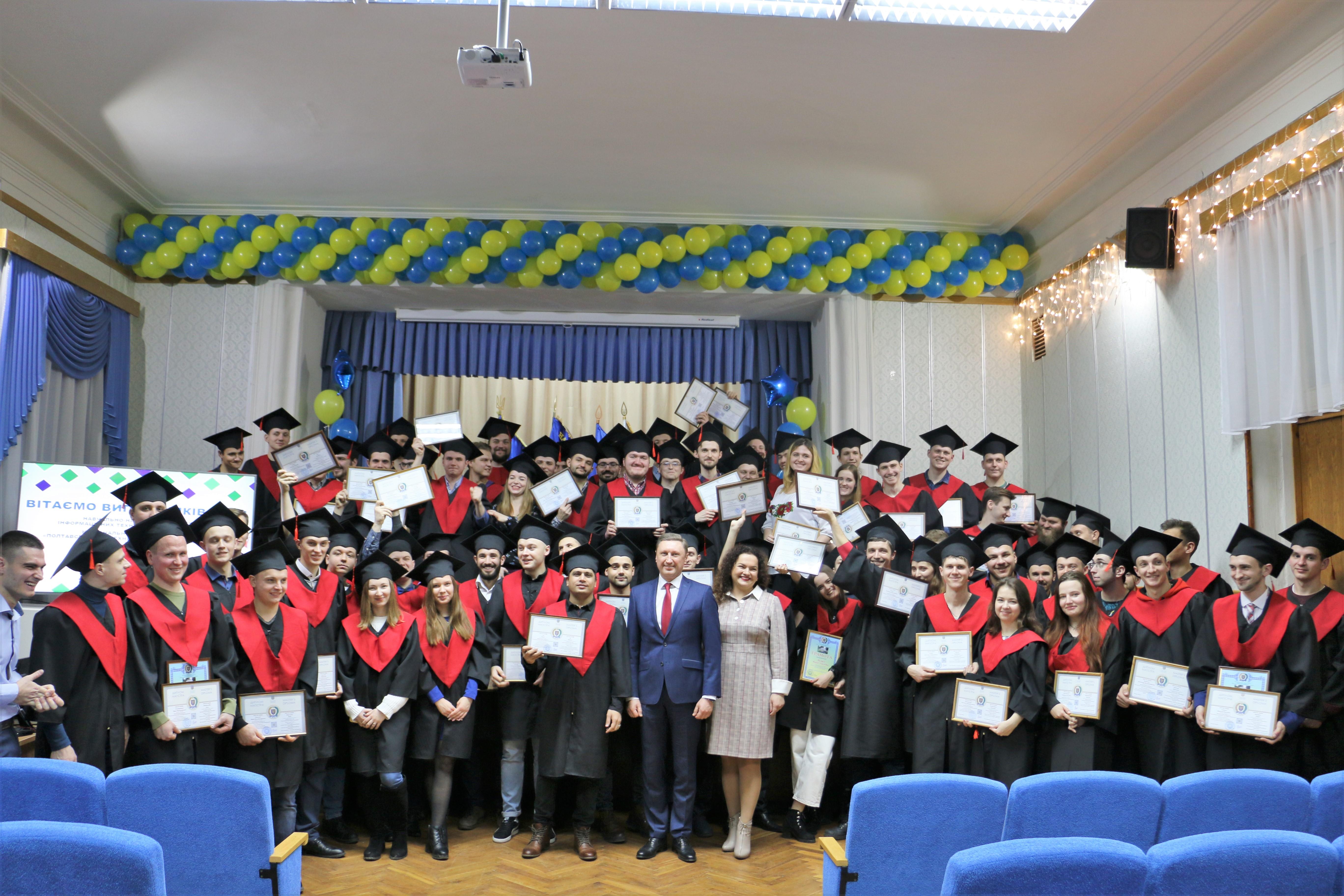 Магістерські дипломи вручили випускникам Навчально-наукового інституту інформаційних технологій і механотроніки