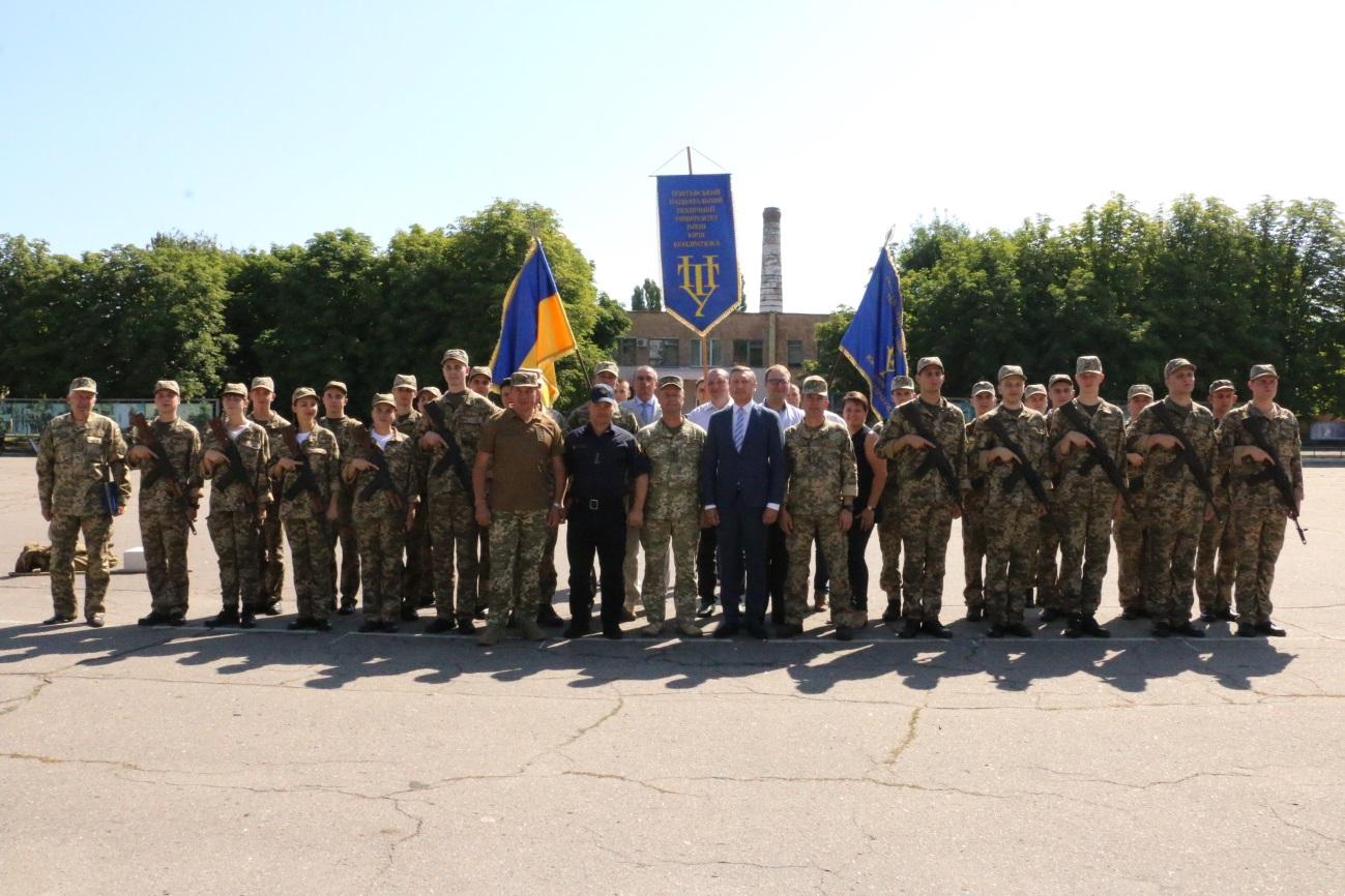 Курсанти ПолтНТУ склали присягу на вірність Україні!