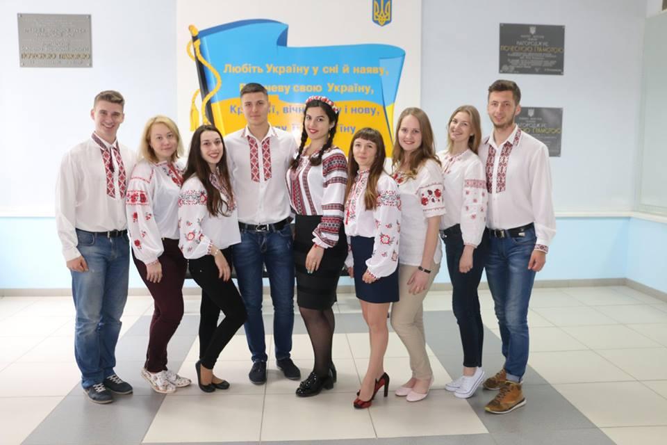 День вишиванки в ПолтНТУ