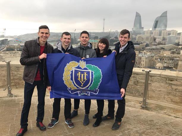 Студенти ПолтНТУ пройшли стажування у Азербайджані
