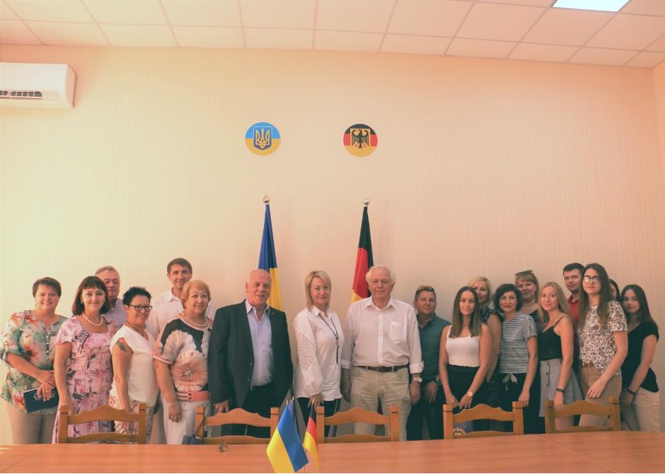 Університет відвідали представники найбільшої німецької індустріальної профспілки