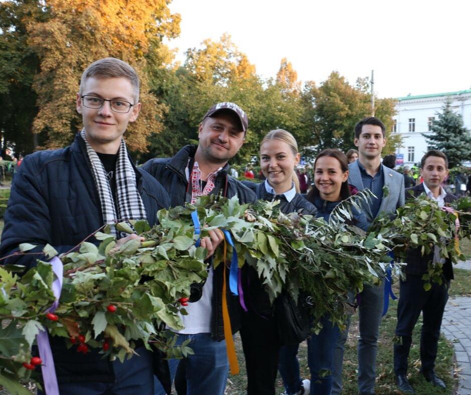 У День міста полтавці встановили національний рекорд України
