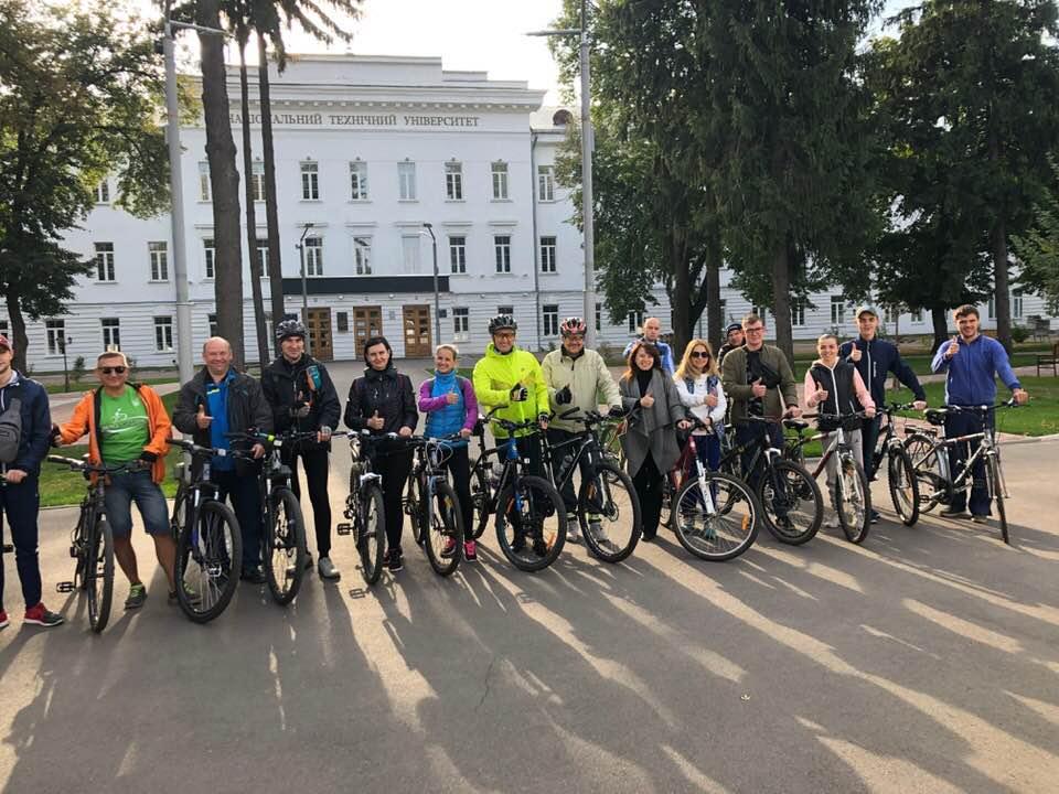Всесвітній день туризму відзначили велопробігом