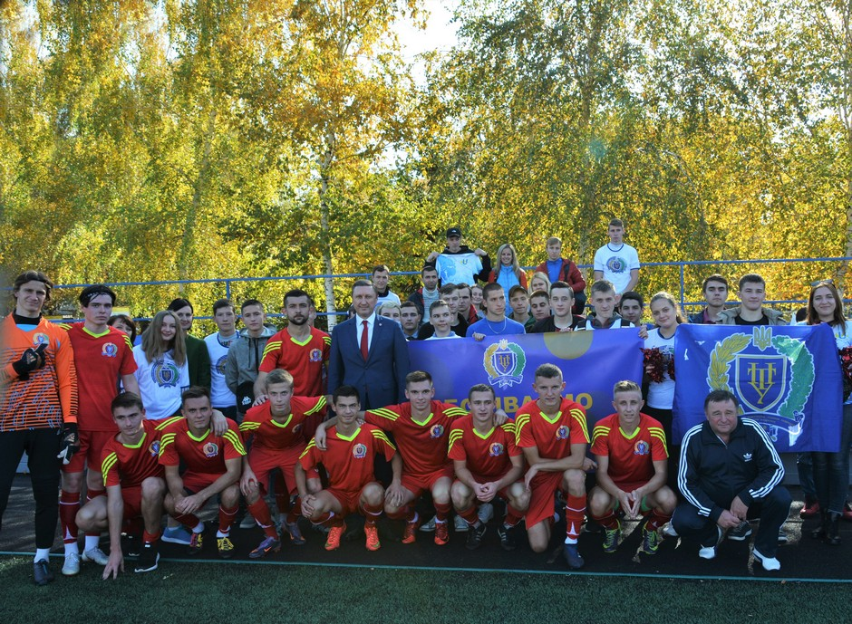Команда ПолтНТУ дебютує на Чемпіонаті України з футболу серед закладів вищої освіти