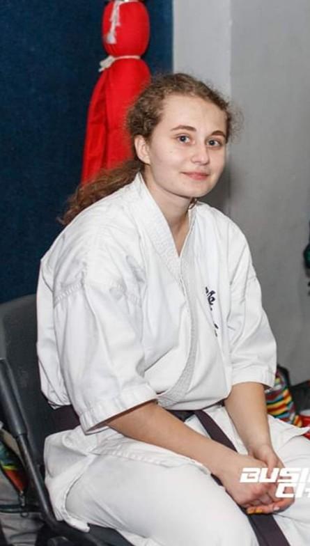 Першокурсниця стала срібною призеркою на чемпіонаті з карате