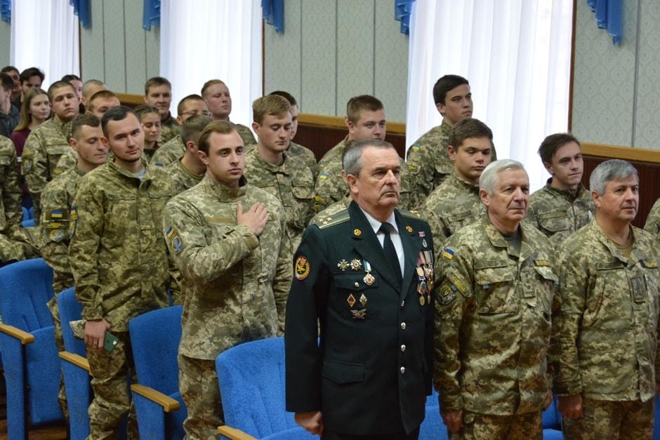 До Дня захисника України: вшанували пам'ять героїв і відзначили кращих у військовій підготовці