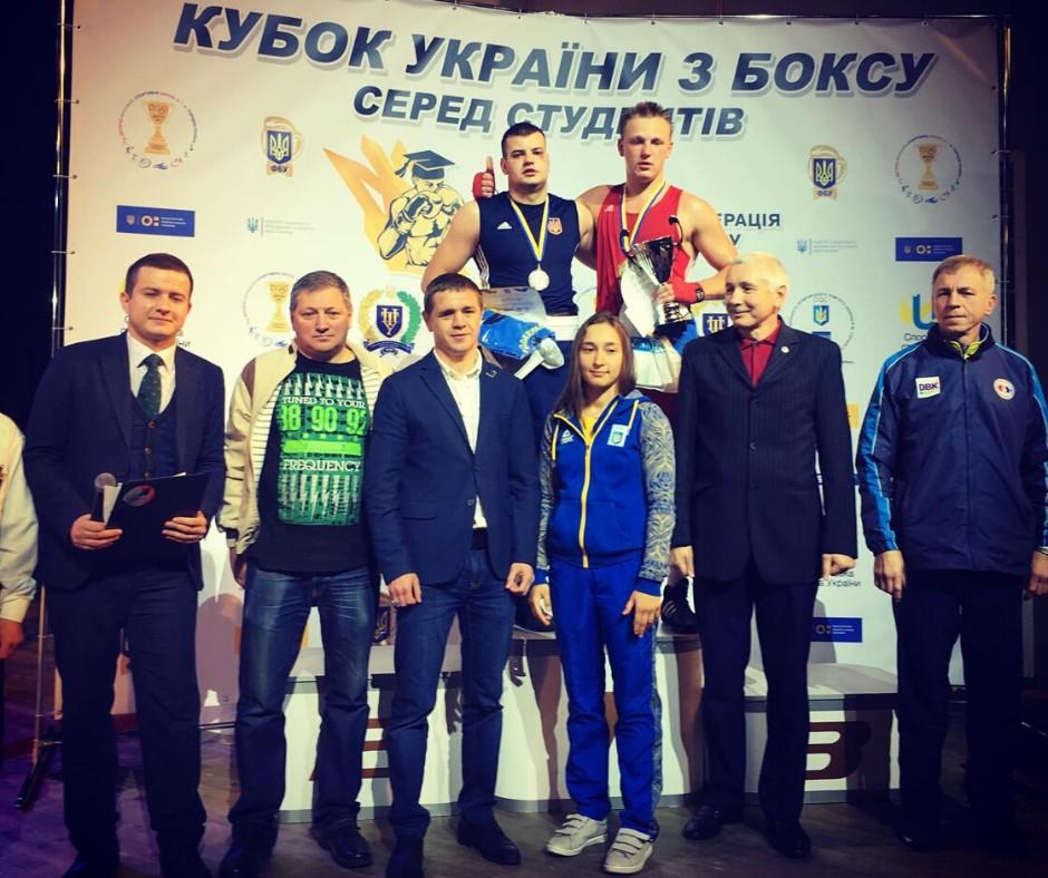 Студент ПолтНТУ здобув срібну медаль на Кубку України з боксу серед студентів