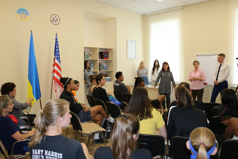 "The Programme of the Embassy of the United States of America in Ukraine ""Youth Leadership Through Sports"" in Poltava National Technical Yurii Kondratyuk University (PoltNTU)"