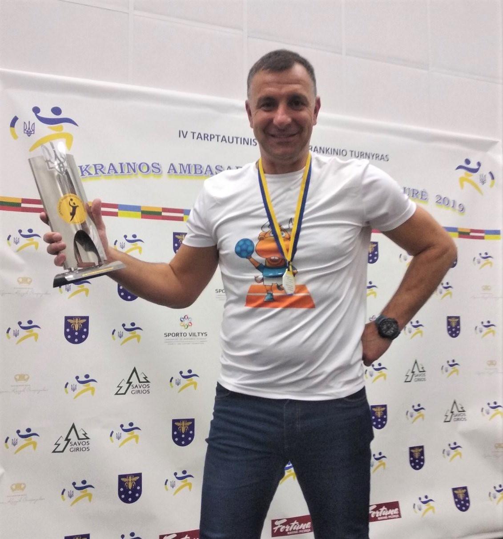 Голова спортивного клубу університету змагався за Кубок Посла в Литві