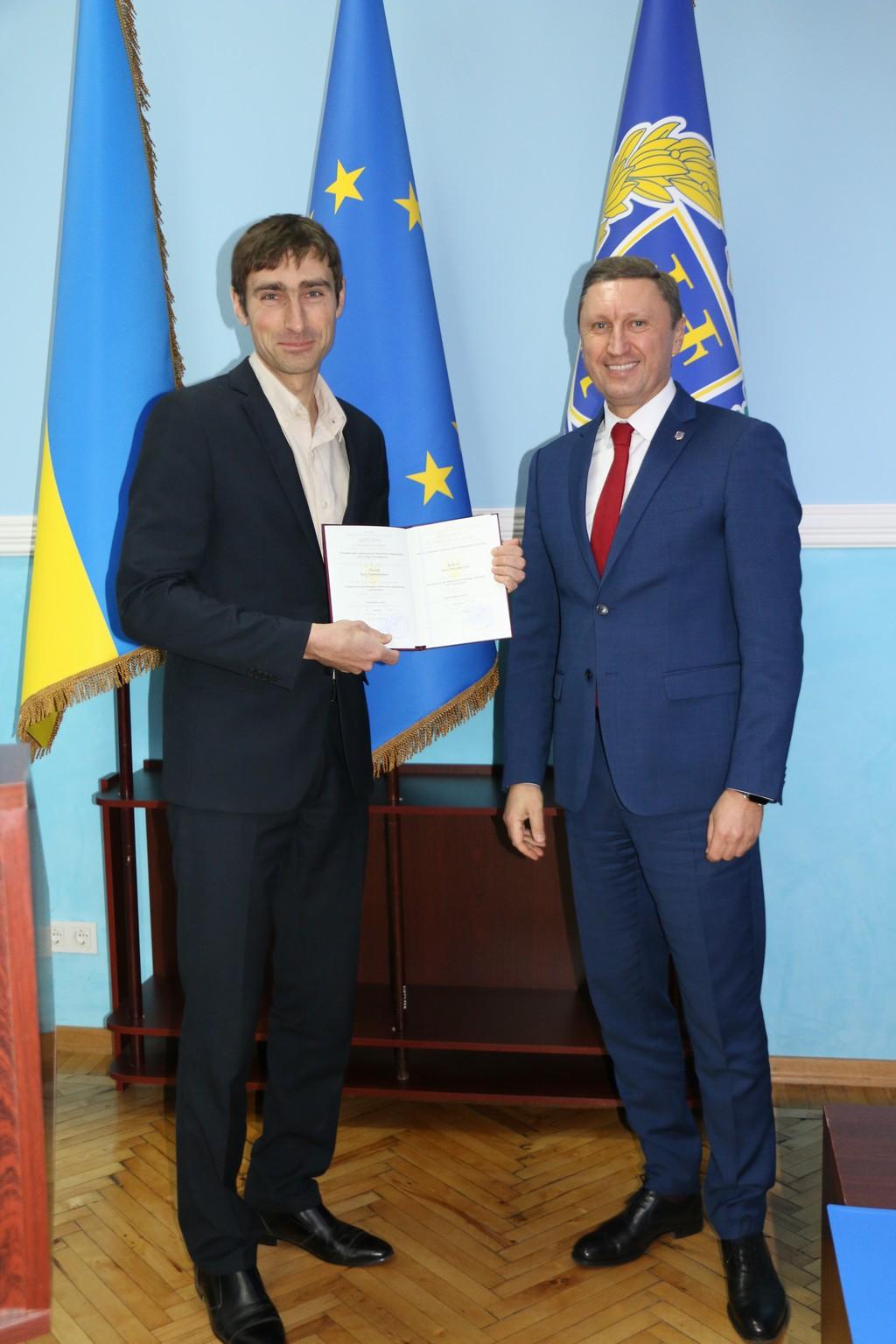 Іван Рогозін отримав диплом кандидата технічних наук