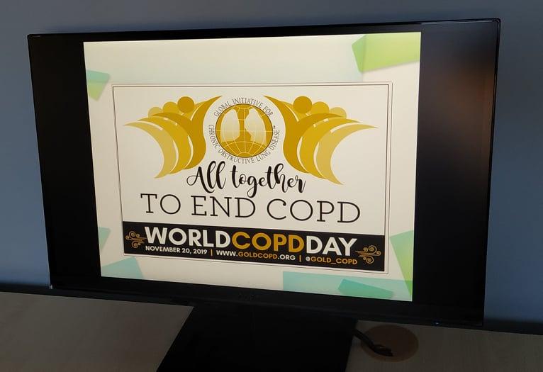 #WorldCOPDDay 2019: відбувся освітній лекторій про одну з найпоширеніших хвороб у світі