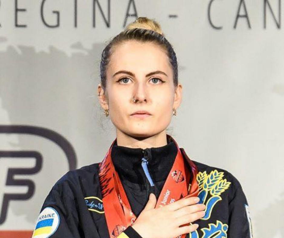 Студентка ПолтНТУ ім. Юрія Кондратюка  стала чемпіонкою світу і встановила рекорд України!