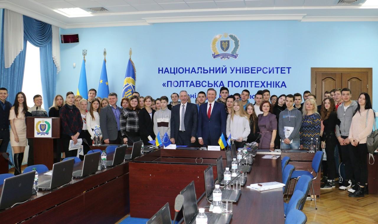 Учні та вчителі шкіл Щербанівської ОТГ оцінили можливості університету