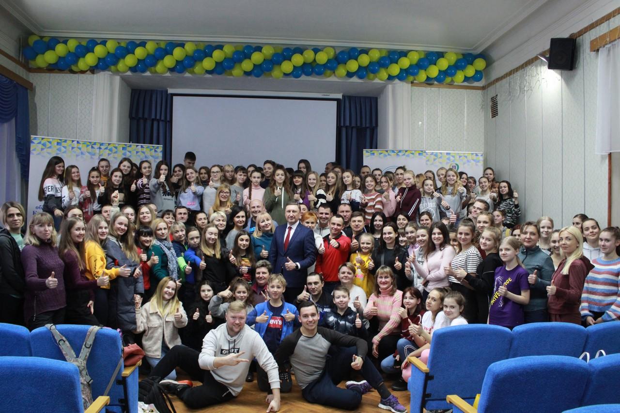 Учні та вчителі Полтавщини пройшли тренінг з чирлідингу