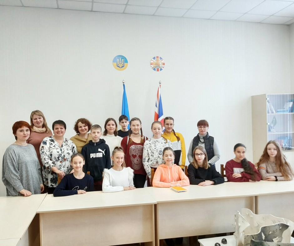 Ліцеїсти відвідали майстер-клас з перекладів на засіданні наукового гуртка