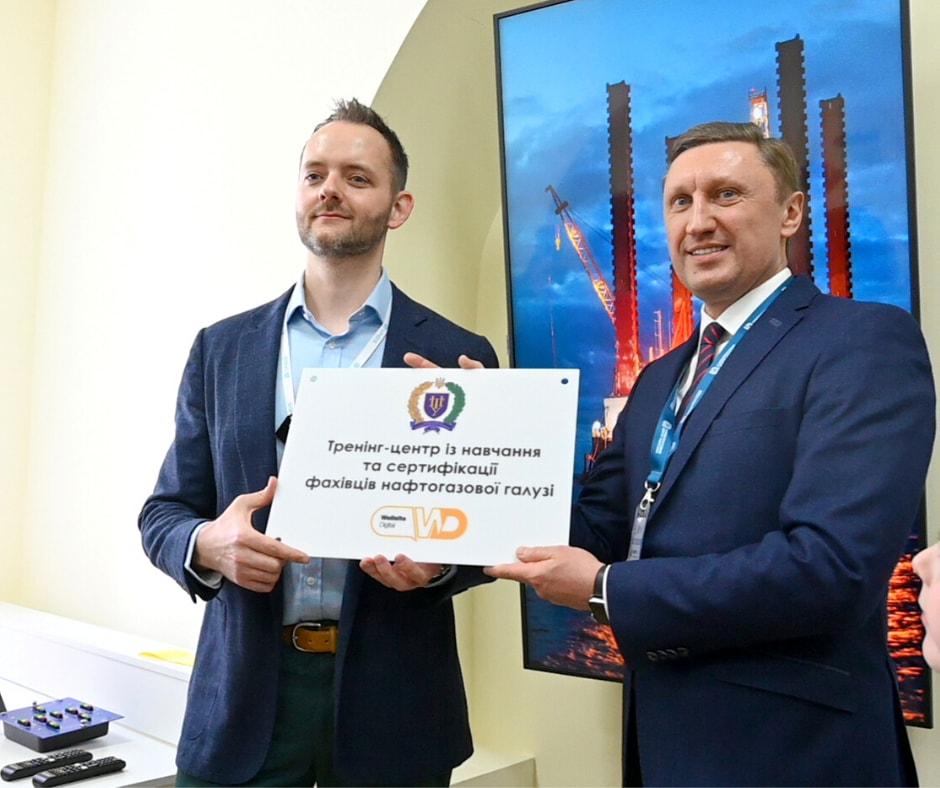 Відкрили найсучасніший  в Україні тренінг-центр з буровими симуляторами