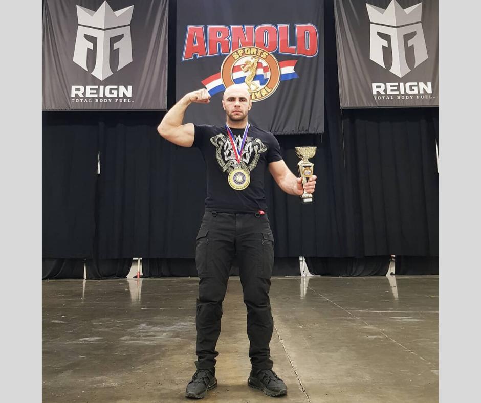 Випускник політехніки став абсолютним чемпіоном спортивного фестивалю Арнольда Шварценеггера у США