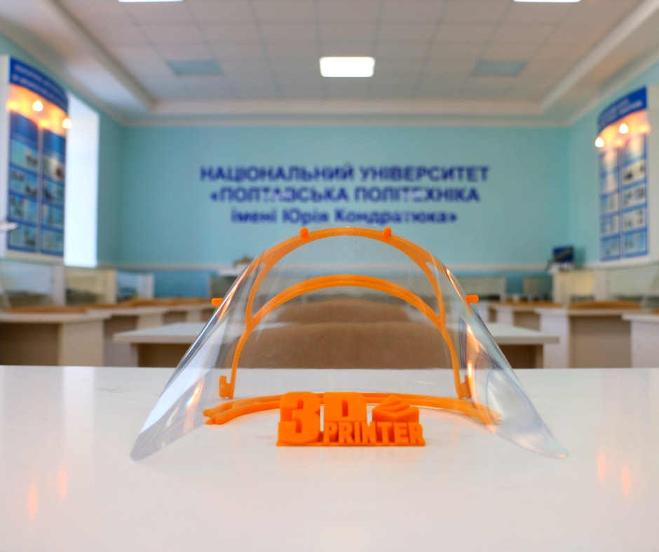 Науковці університету виготовляють захисні маски