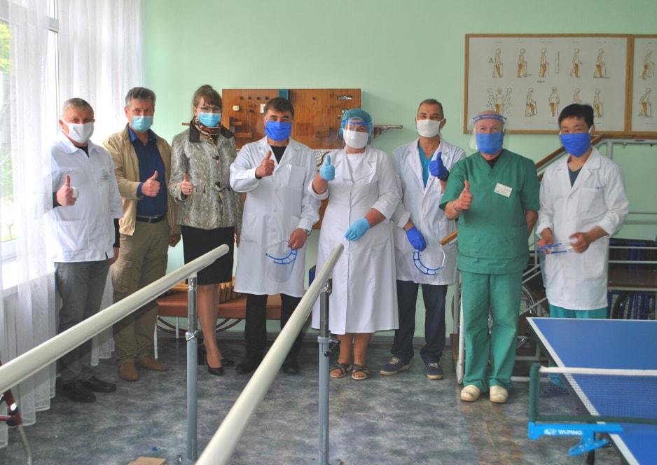 Політехніка передала захисні маски лікарям Полтавського КЕПОП і уклала угоду про співпрацю