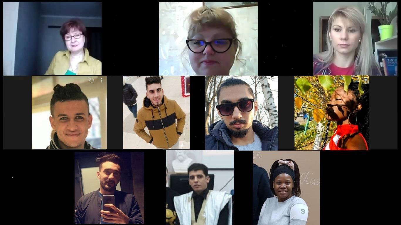 Студенти-іноземці вчили українську мову під час віртуальної екскурсії Полтавою