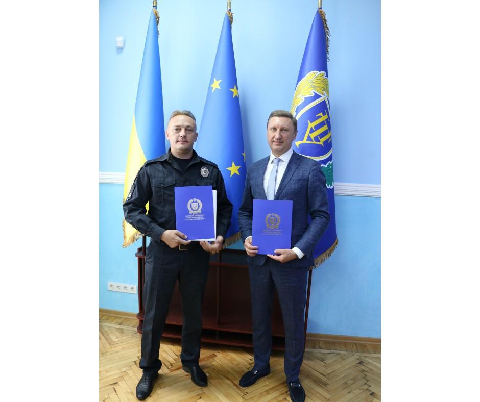 Політехніка підписала Меморандум з патрульною поліцією