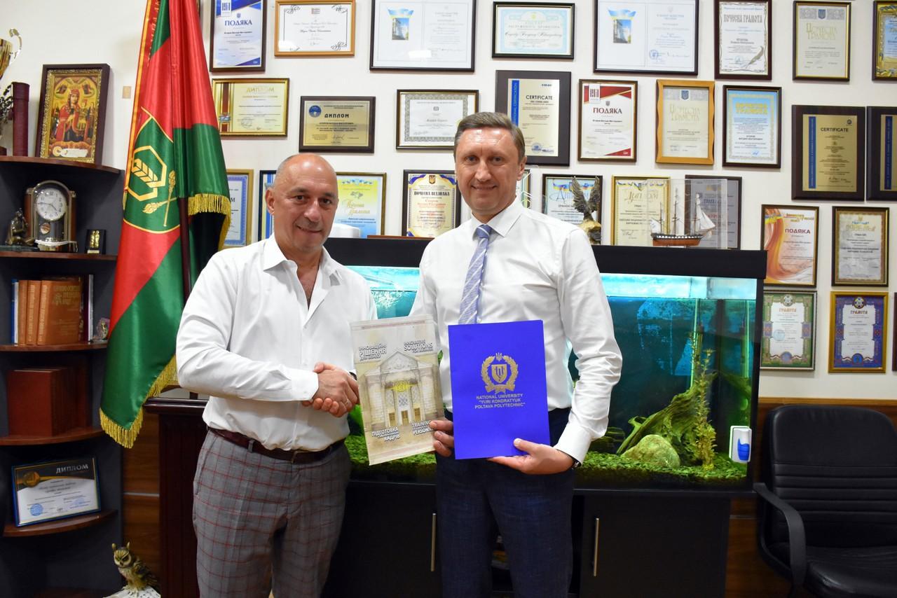 Полтава-Одеса: політехніка співпрацюватиме з ОНАХТ