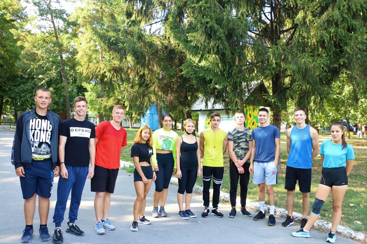 Першокурсники починають свій шлях у спортивному студентському русі