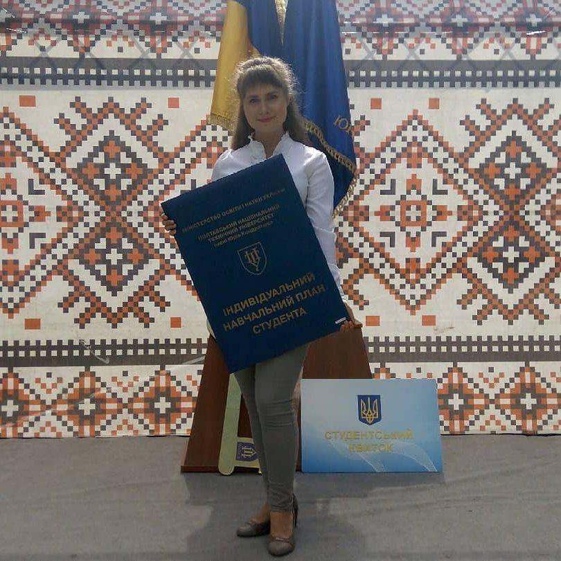 Переможниця Ірина Ващенко