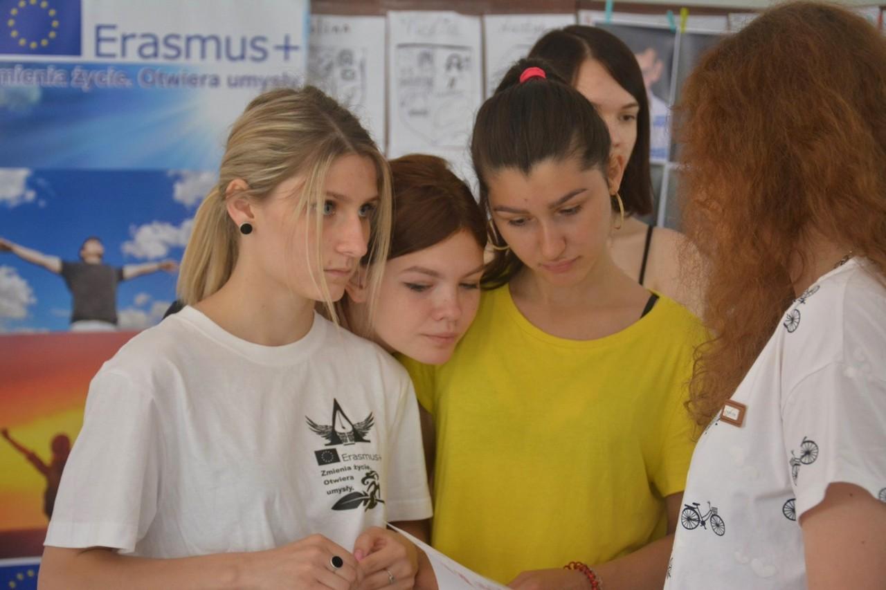 Erasmus+: студенти вивчали у Польщі основи креативної професії майбутнього
